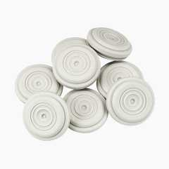 Cable grommets, 10-pack