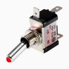 Tumbler switch LED