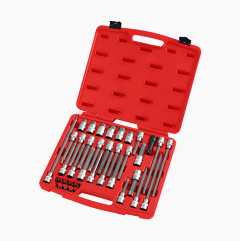 Socket Bits Set, 38 parts