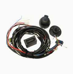 Universal electrical cable kit, relay-controlled
