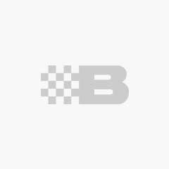Telescopic ladder incl. pinch guard