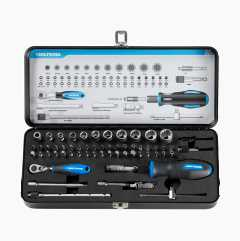 Socket and Spanner Set with Bits, 59 parts