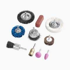 Polishing set, 10 parts