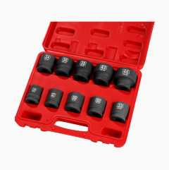 Heavy-duty socket set 3/4""