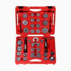 Bromskolvsverktyg, 37 delar