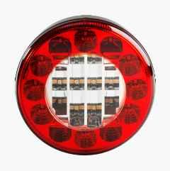 Baklykta rund LED