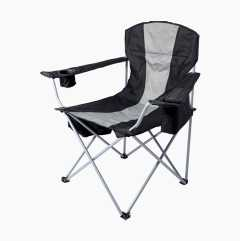 Camping chair with cooling bag