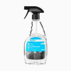 Water-repellent glass cleaner