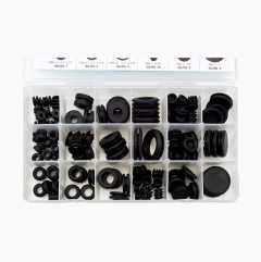 Rubber grommets 125 pcs.