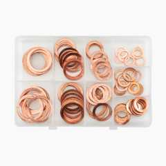 Copper Washers, 90-pack.