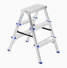 Free-standing stepladder