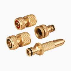 Hose Connectors, brass