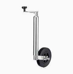 Støttehjul med bremse