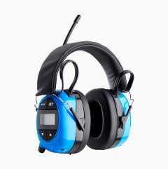 Hørselsvern med radio/AUX/Bluetooth