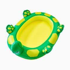 Kilpikonnan muotoinen uima-allas