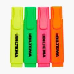 Highlight pen, 4 pcs