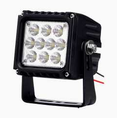 Work light with wide beam angle
