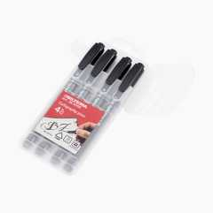 Calligraphy pens, 4 pack