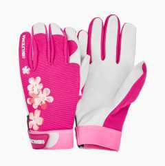 Leather Work Gloves gardening 440