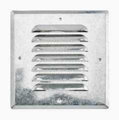 Ventilation grille, shoulder connection, rectangular