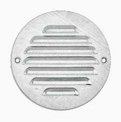 Ventilation grille, round, screw mounting