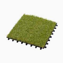 Kunstgræs 4-stk. pakke