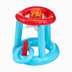 Flytende basketballkurv