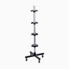 Wheeled Tyre Stand