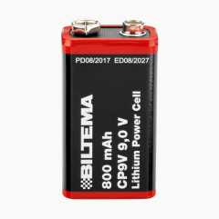 Battery for fire alarm