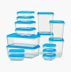 Storage Containers, 15 pcs.