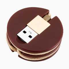 USB-lade/-synkroniseringskabel med lightning-kontakt