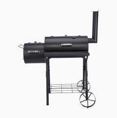 Grilltunna med rök