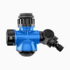 Krananslutning med dusch