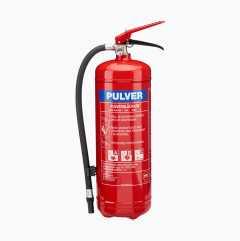 Brandsläckare, pulver, ABC