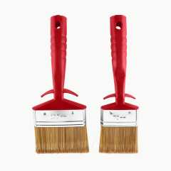Exterior Paintbrush Set Basic, synthetic bristles