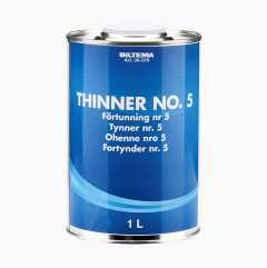 Thinner No. 5