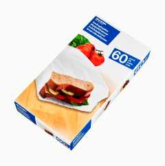 Sandwich Bags, 60-pack