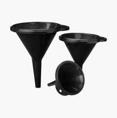 Funnels, set of 3.