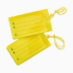 Luggage Tags, 2-pack
