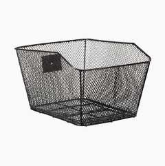 Cycle basket for the parcel rack