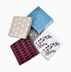 Papirservietter, mønstrede, 20-pakning