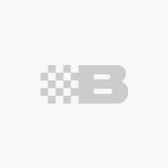 Striped Fleece Jacket, black